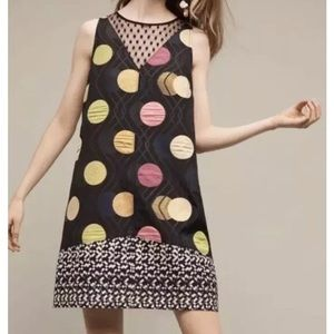 Anthropologie Maeve Polka Dot Dress size XL